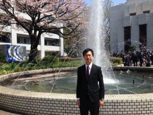 【16期生ウィリアム】電通大入学式