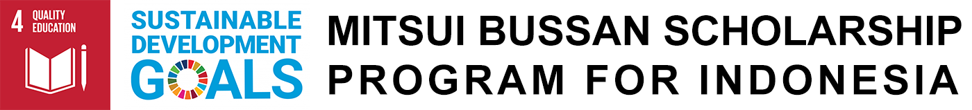 Mitsui Bussan Scholarship Program for Indonesia